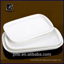 P & T Porzellan Fabrik starkes Geschirr, Keramik Abendessen Teller