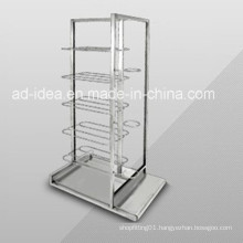 White Wire Display Rack /Exhibition for Supermarket Display