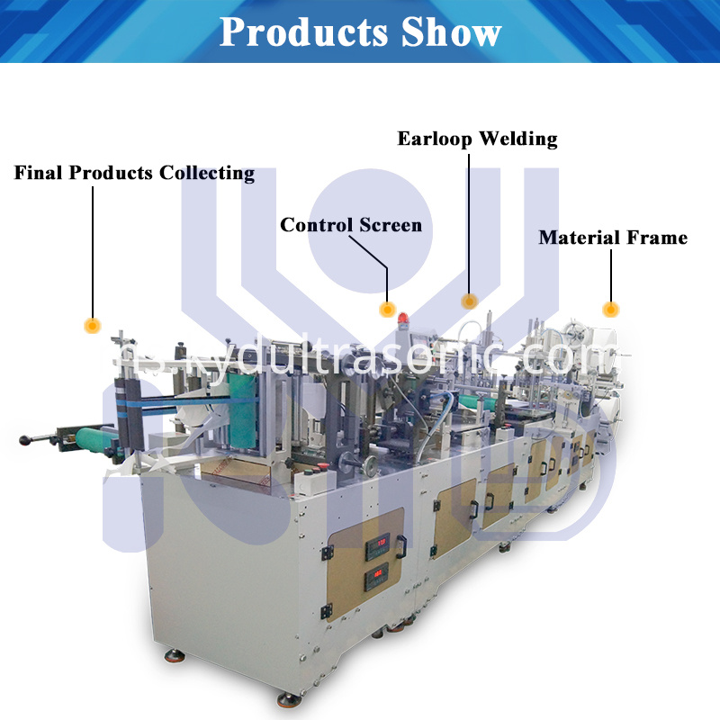Folding Mask Machine