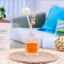 Essential Oil Reed Diffuser Glass Bottle, Reed Sticks, Natural Scented Long Lasting Fragrance Oil