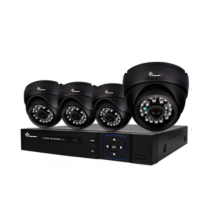 Kit DVR 4CH AHD infravermelho Plug & Play