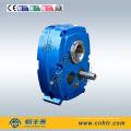 Reductor de engranajes / caja de engranajes montados en el eje