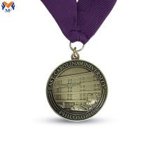 Kundenspezifischer runder Medaillenmetallpreishersteller