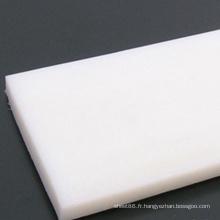 Feuille blanche de PE de polyéthylène résistant à la corrosion
