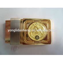 40mm Engraved logo belt buckle type of custom belt buckle