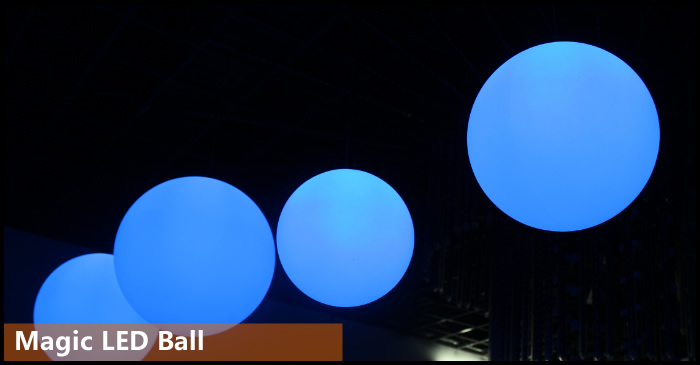 DMX LED Magic Ball