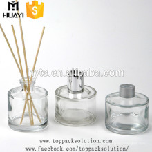 Wholesale 50ml 80ml 100ml 120ml 150ml refill colorful aroma reed diffuser glass bottle