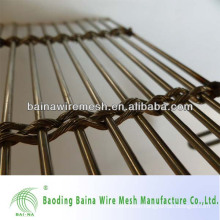 architectural wire mesh/ stainless steel wire rope mesh net made in china
