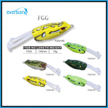 Yellow/Green Point New Frog Lure (140mm/18g)