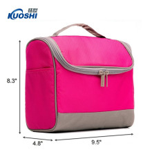 Hot popular pink cosmetic bag