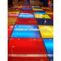 Portable Lighting Exhibition raised floor with glass platform for trade show
