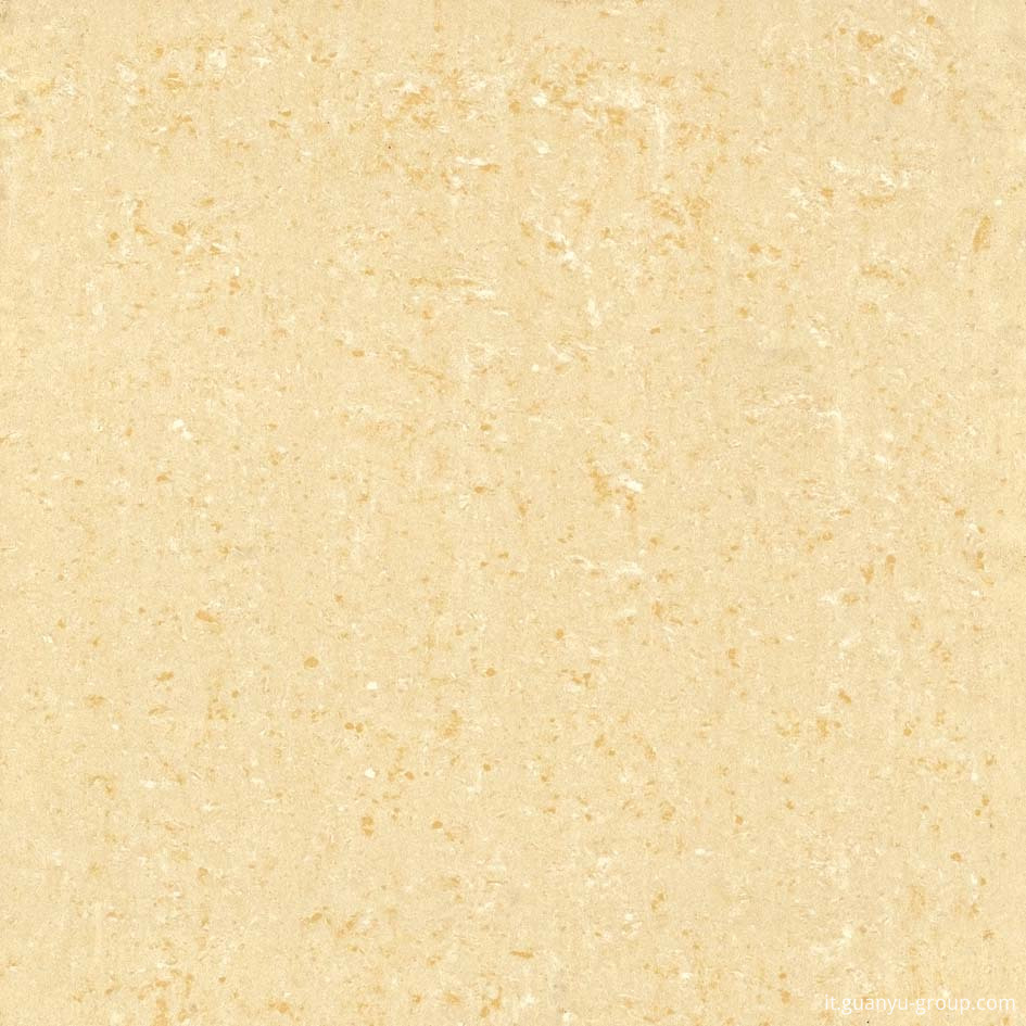 Yellow Double-Loading Polished Porcelain Tile