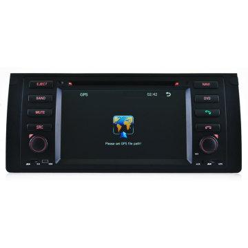 Автомобильный DVD-плеер для BMW 5 / E39 GPS-навигация с iPod