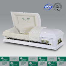 LUXES American Style Casket Box Great Cremation Funeral Caskets