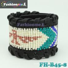 Pulseiras de couro elegante nova chegada Fashionme B45