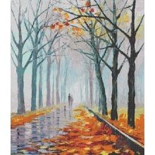 Landscape painting wall mosaic tiles