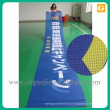 Fabricação de impressão digital 13 oz bandeira de malha de cerca