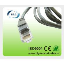 Audio y datos cable de parche cat5e cat6 utp