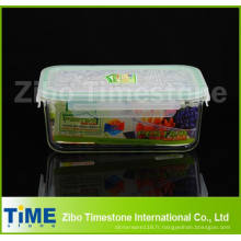 Récipients frais en verre Pyrex pour les aliments frais et l'école (DPP-15)