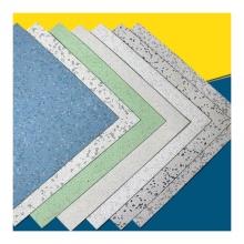 Revêtement de sol en vinyle antistatique Revêtement de sol en planches de vinyle