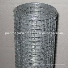 Rodillo de malla de alambre soldado galvanizado por inmersión en caliente