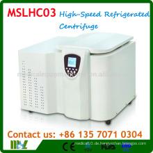 MSLHC03 Table-Type Großraum-Hochgeschwindigkeits-Kältezentrifuge / Kältemaschinen-Zentrifugenmaschine