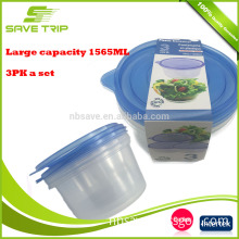 Cheapest air tight plastic sealable unbreakable personalized containers dog pet food storage container