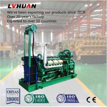 Generador de energía de biomasa con gasificación de madera y grupo electrógeno Syngas