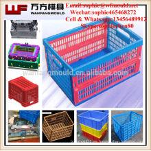 Productos de calidad de la fuente de China molde de la caja plegable / moldeo por inyección para la caja plegable en Taizhou