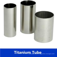 ASTM B338 tubo de titânio soldado / tubo para trocador de calor com preço de fábrica