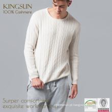 Cashmere Boys Pullover, Pulôver de camisola alemã, Design Sweater para homens