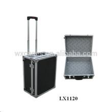 equipaje eminente de aluminio portable por mayor de China fábrica buena calidad