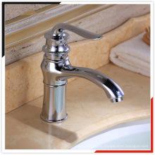 Высококачественный цинковый литой латунный смеситель для раковины ванной комнаты