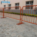 High quality Galvanized Pedestrian Tube Crowd Control Barriers/Traffic barrier