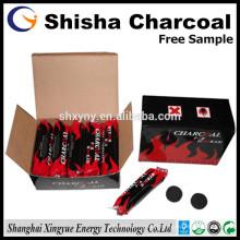 Carvão natural para shisha, carvão de narguilé, fornecedor de Nargile