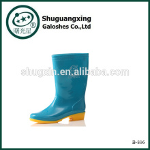 Regen Gummistiefel für Männer Mode Stiefel PVC Regen Stiefel des Mannes Regen Stiefel B-806