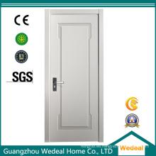 Puerta de madera moderna imprimida blanca del MDF MDF para los hoteles