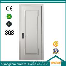 White Primed HDF MDF Modern Wooden Door for Hotels