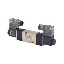 4M220-08 Válvula solenoide / Válvula solenoide neumática de aleación de aluminio y de cinco direcciones de dos posiciones
