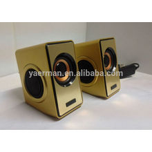 high quality 2.0 speakers with diaphragm,oem computer speakers