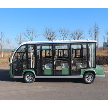 Ce Certificate 11 Seats Enclosed Electric Sightseeing Bus
