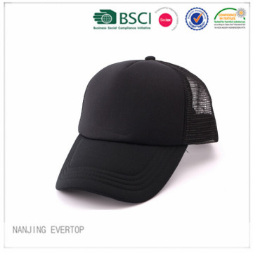 Black Polyester Trucker Cap Wholesale