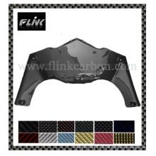 Piezas de la motocicleta - tablero de la rociada de la fibra del carbón para Suzuki K7