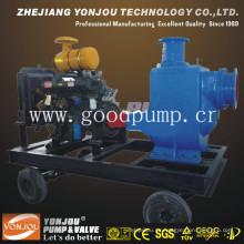 Selbstansaugende Diesel-Abwasserpumpe