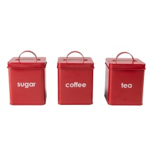 Decorative Kitchen Canisters storage canister enamel