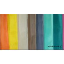tissu de taffetas de polyester de stock de vêtement de fournisseur de porcelaine de qualité supérieure