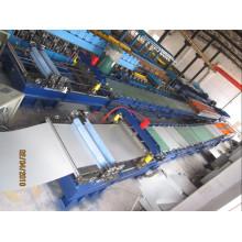 Máquina formadora de rolos de dupla camada de alta velocidade