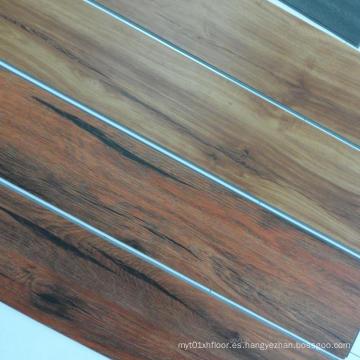 Suelo de madera del tablón del vinilo del PVC de grano