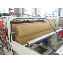2014 PVC CRUST FOAM BLATT EXTRUSION LINE / PVC SKINNING FOAM BLATT MACHINE