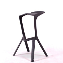 Empilhamento de plástico ABS bar fezes cadeira de jantar